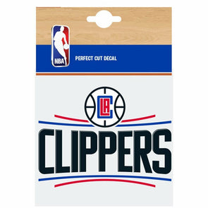 Fanatics NBA Los Angeles Clippers Car Decal
