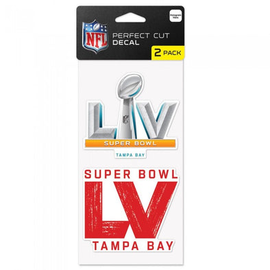 Super Bowl LV Decal 2pk