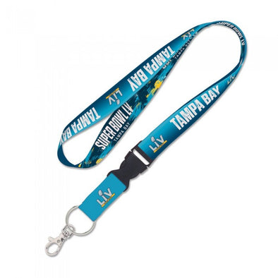 Super Bowl LV Lanyard w/ Detachable Buckle