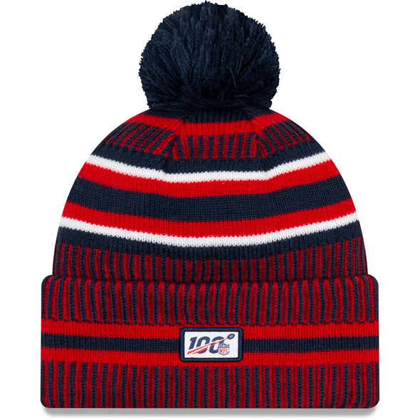 New Era NFL Sideline 2019 New England Patriots Home Official Sport Knit