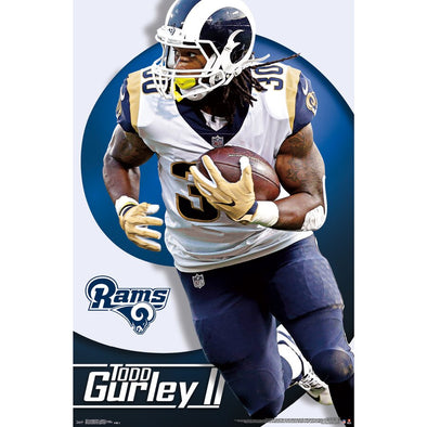 Todd Gurley II Los Angeles Rams 22'' x 34'' Player Poster