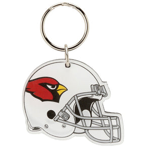 Acrylic Key Ring NFL Helmet Arizona Cardinals
