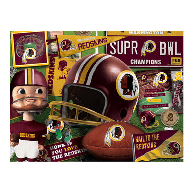 YouTheFan NFL Washington Redskins Retro Series Puzzle - 500 Pieces