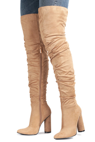 ADORE YOU THIGH HIGH BOOTS