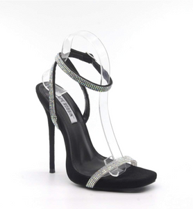 Bella Rhinestone Heels - Fly Shoe Boutique and Accessories