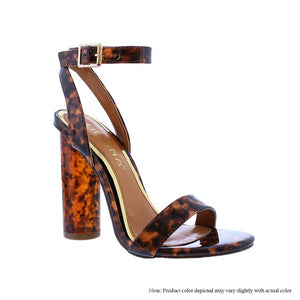 Amber Tortoise Heels - Fly Shoe Boutique and Accessories