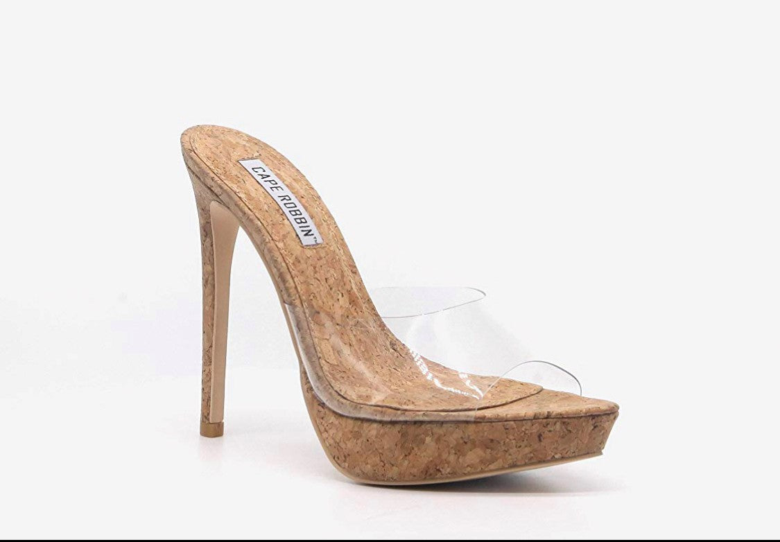 Worship Cork Heels - Fly Shoe Boutique and Accessories