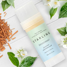Load image into Gallery viewer, Jasmine Sandalwood Deodorant | Floral + Earthy - starlingskincare