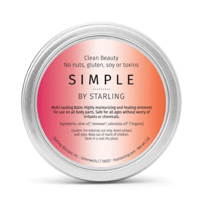 Simple Multitasking Balm 2 OZ - starlingskincare