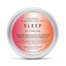 Load image into Gallery viewer, Sleep Balm | Calming + Relaxing - starlingskincare