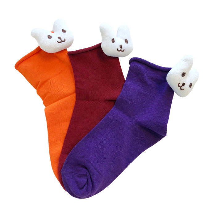 Cute Animal Character 3D Design Socks