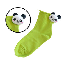 Load image into Gallery viewer, Cute Animal Character 3D Design Socks