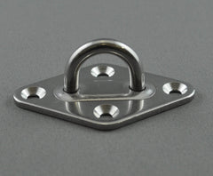 STAINLESS PAD EYE DIAMOND BASE