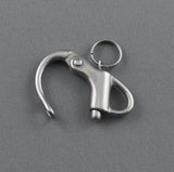 STAINLESS SNAP SHACKLE FIXED EYE 32MM