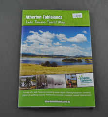 LAKE TINAROO TOURIST MAP