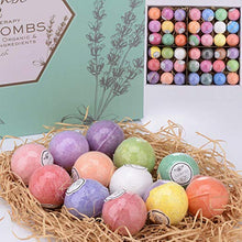 Load image into Gallery viewer, Bulk Bath Bomb Gift Set - 42 Bath Bombs for Kids, Women & Men! Ultra Lush Bath Bombs Perfect Gift Set for Women! - ardenorganics.com