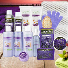 Load image into Gallery viewer, Super Large Lavender & Chamomile Aromatherapy Spa Kit - ardenorganics.com