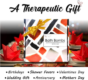Bulk Bath Bombs Gift Set - 50 Natural Individually Wrapped Bath Bomb Kit - JA Organic Moisturizing Bath Balls for Women Men & Kids. Best Bath Bombs Party Favors for Adults & Teens. Sulfate Free