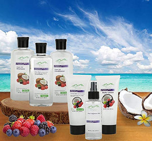 Coconut & Berry XL Spa Gift Basket - ardenorganics.com