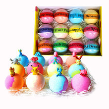 Load image into Gallery viewer, Bath Bombs for Kids with Surprise Inside. Go Party 12 Huge Surprise Bath Bombs with Pokeman Toys. Individually Wrapped - Makes Great Party Favors for Birthday Parties & Kids Parties. Bath Time Fun! - ardenorganics.com