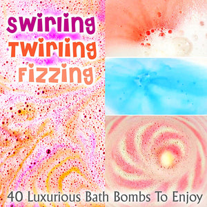 La Bombe Bulk Bath Bomb Gift Set - 40 Bath Bombs for Kids, Women & Men! Ultra Lush Bath Bombs Perfect Gift Set for Women! - ardenorganics.com