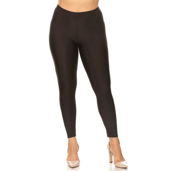 Curve Shine Leggings Black