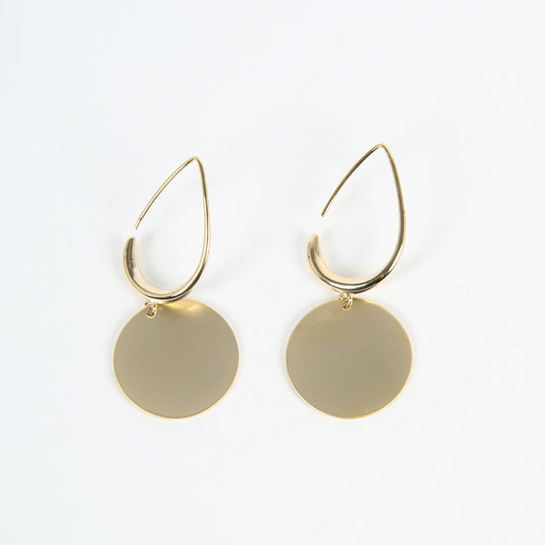 Doria Drop Earring (Gold)