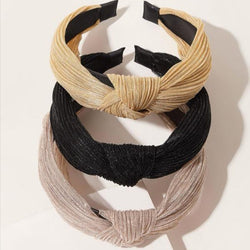 3pcs Neutral Hairband