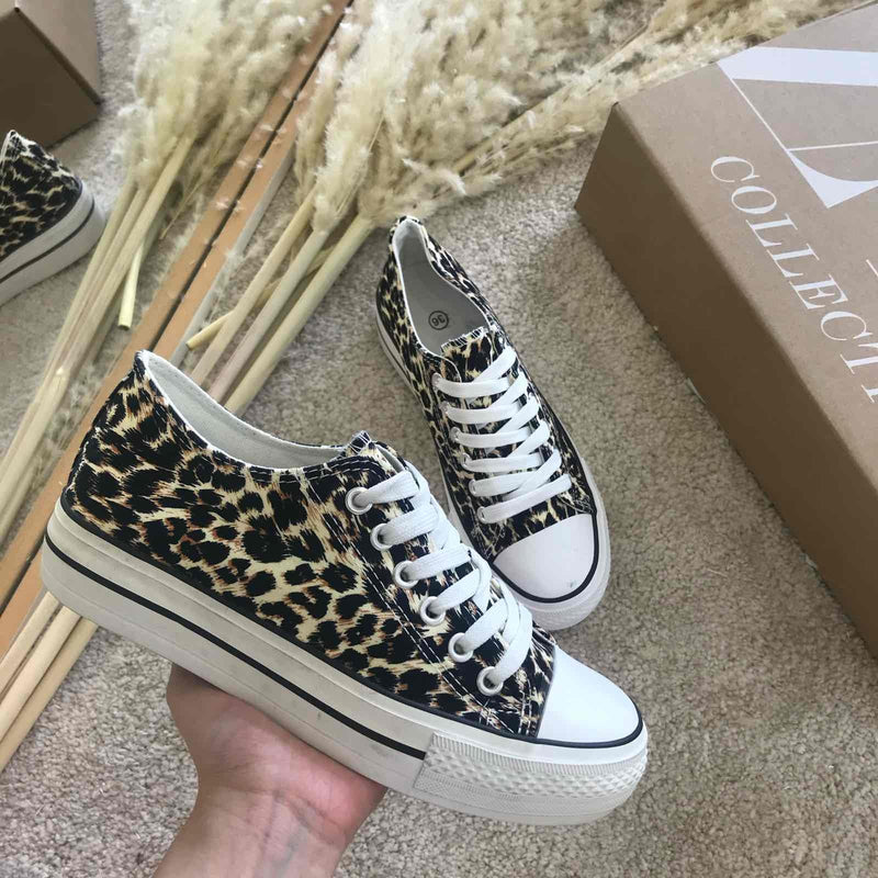 Bobby Sneakers (Leopard)