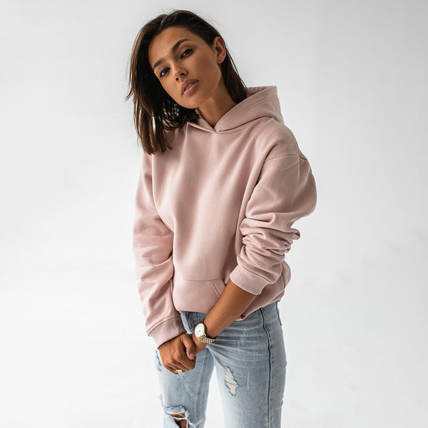 Ellie Oversized Hoody (Pink Salt)