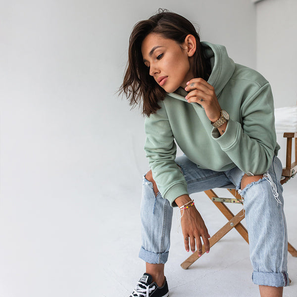 Ellie Oversized Hoody (Mint)