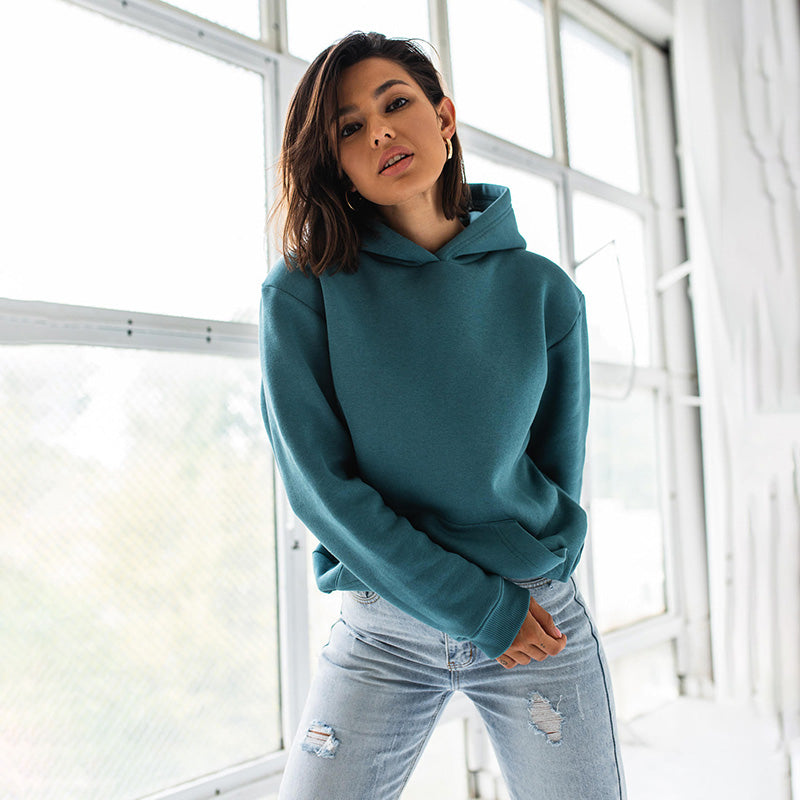 Ellie Oversized Hoody (Teal)