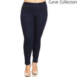 Curve Jegging Dark Denim