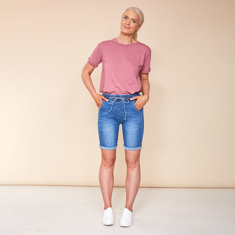 Ella Shorts (Denim)