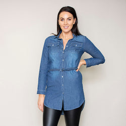 Delilah Shirt (True Blue)