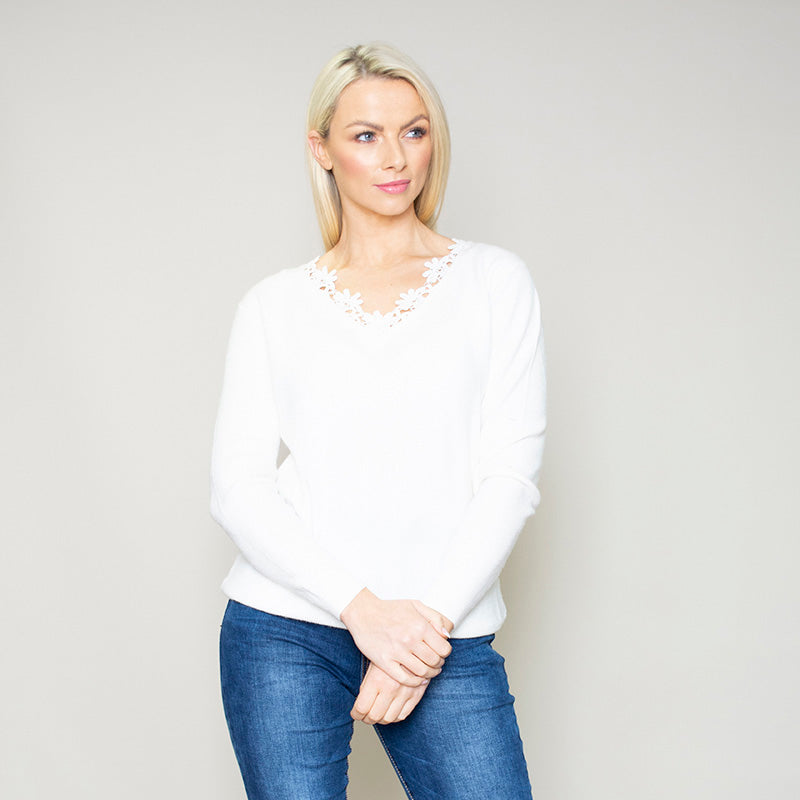 Fia Jumper (White)
