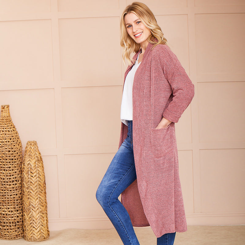 Gina Cardigan (Rose)