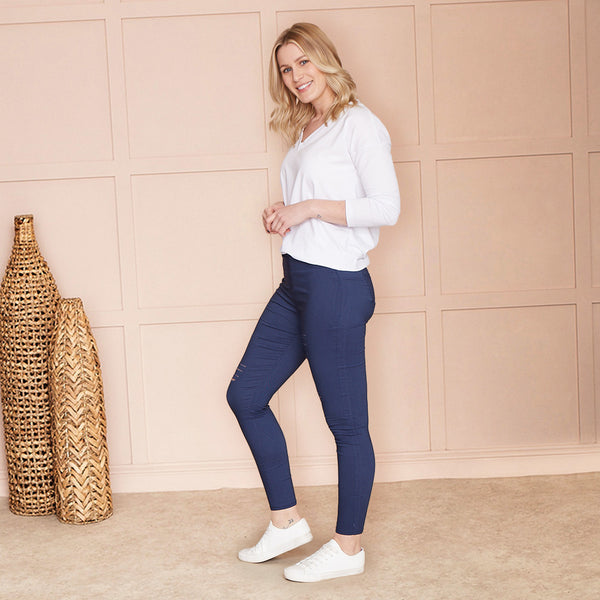 Amy Legging (Navy)