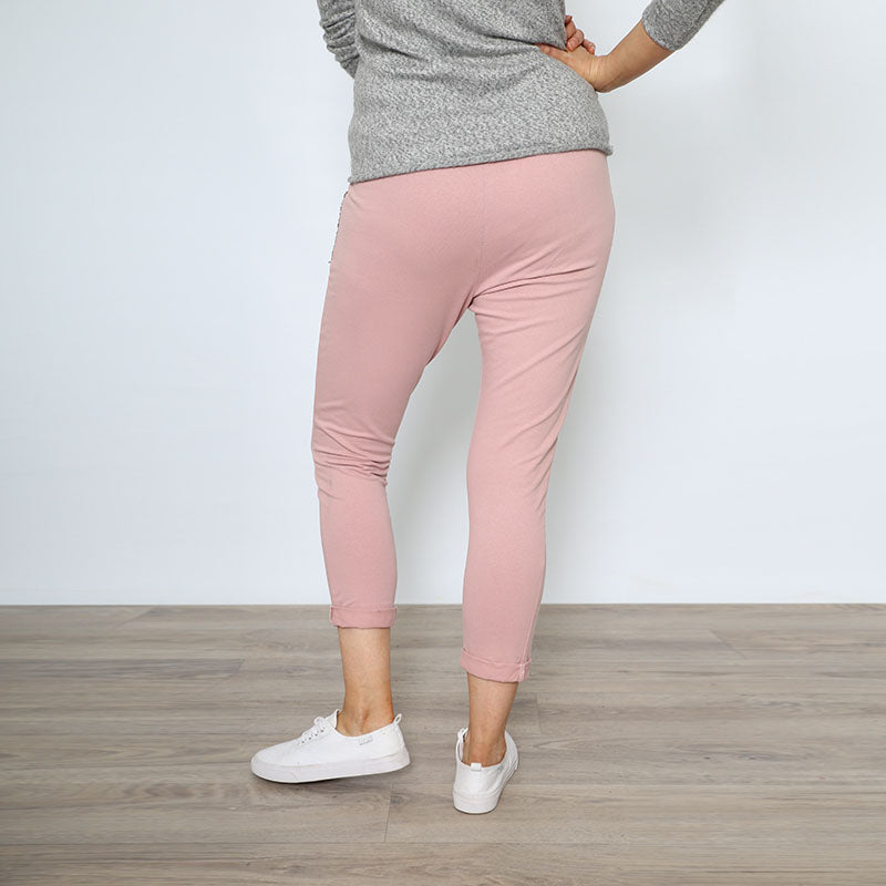 Cotton Jogger Pink