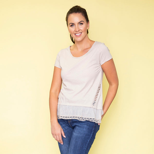 Brooke T-Shirt (Beige)