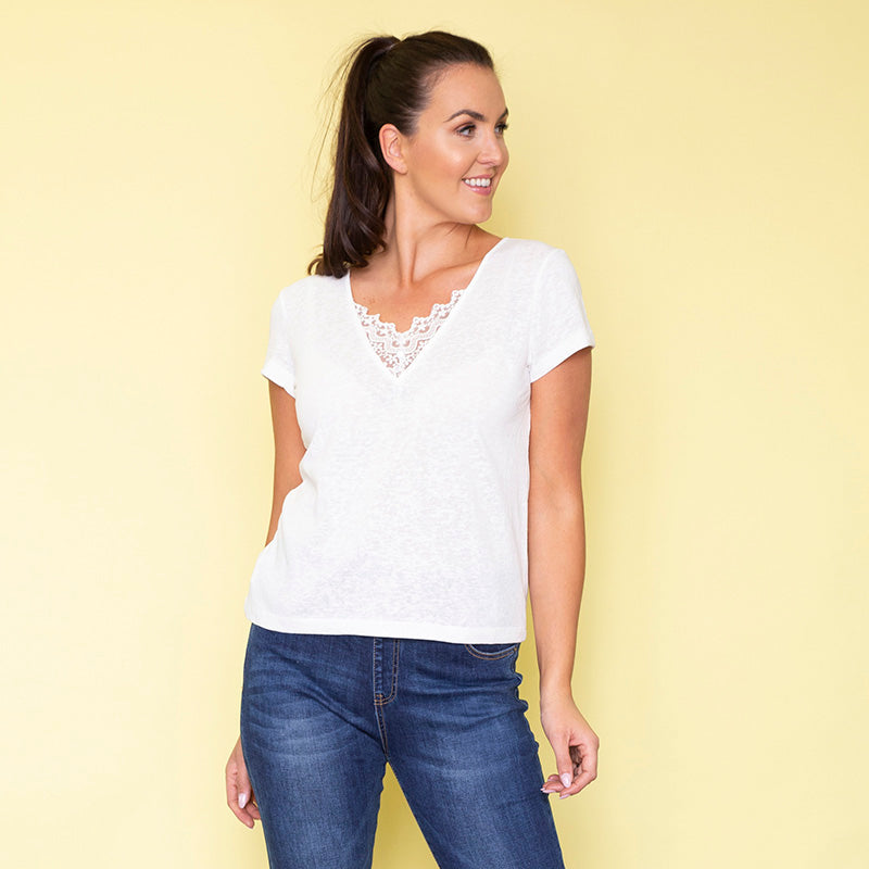 Jenna Top (White)