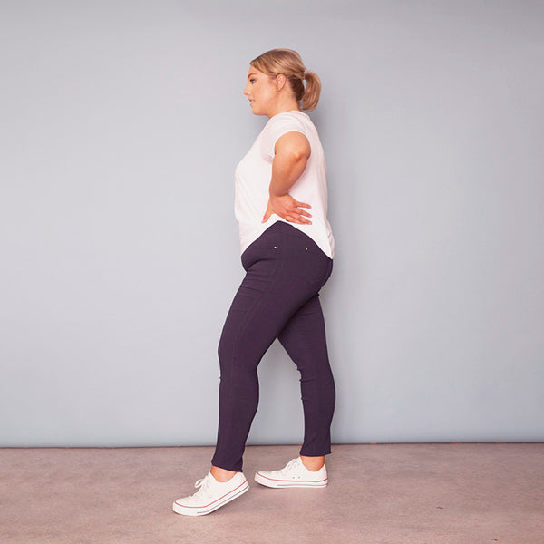 Pia Trousers (Navy)