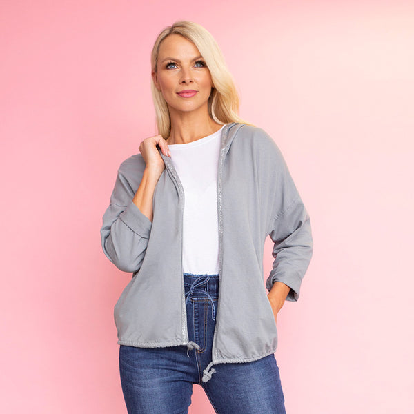 Hannah Hoody (Dove Grey)