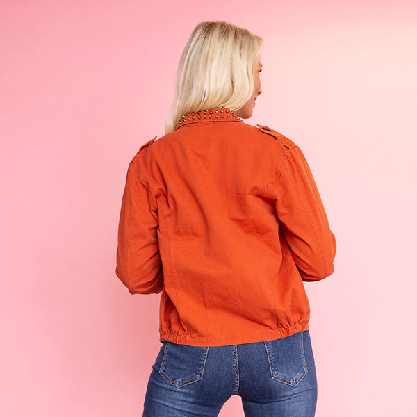 Hally Jacket (Burnt Orange)