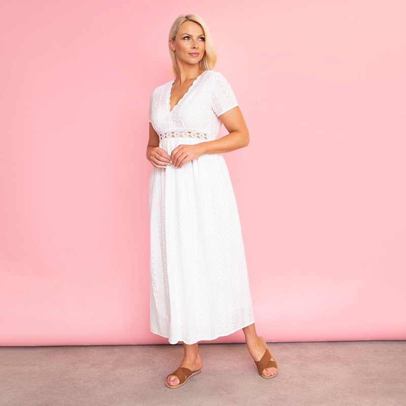 Tilly Dress (White)