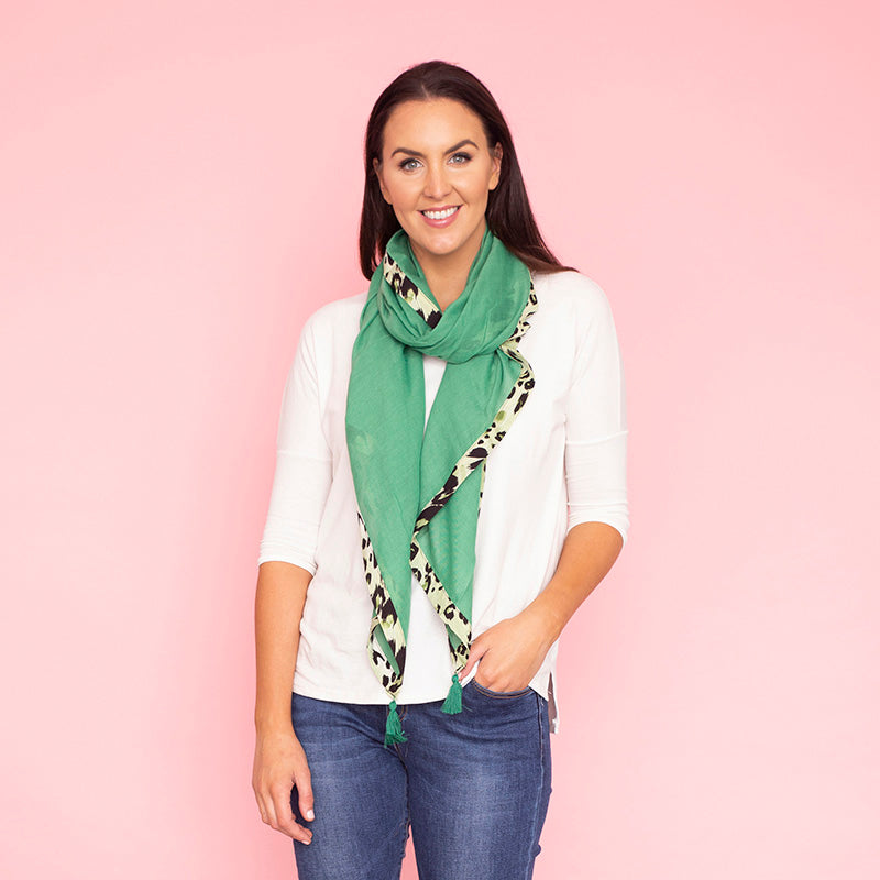 Riley Scarf (Green)
