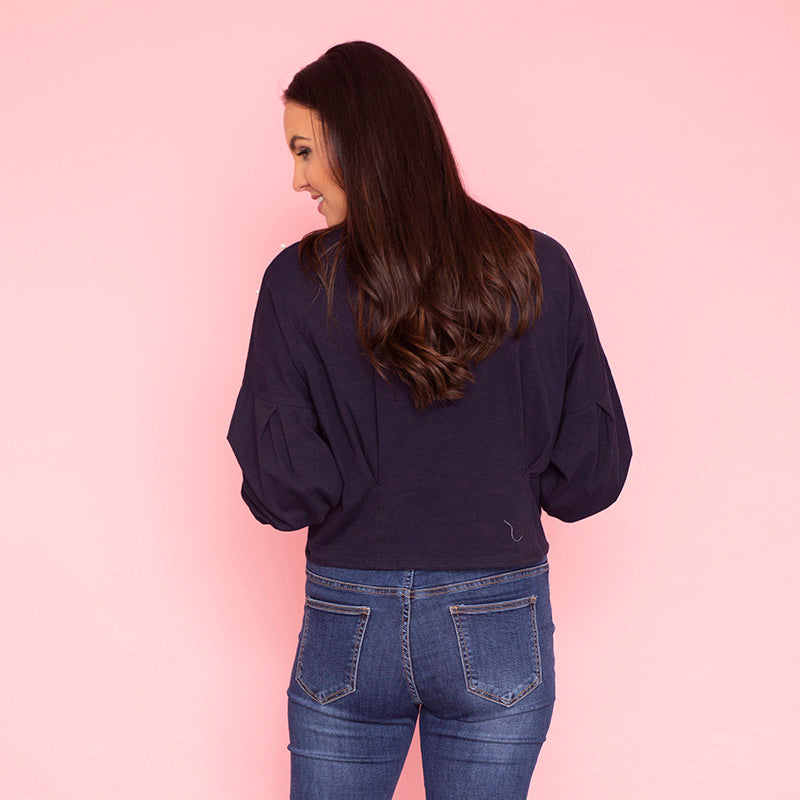 Virgo Jumper (Navy)