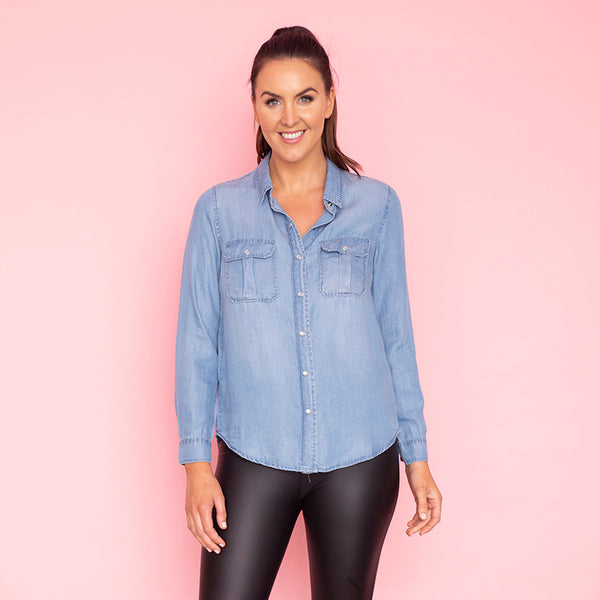 Charlie Shirt (Denim)