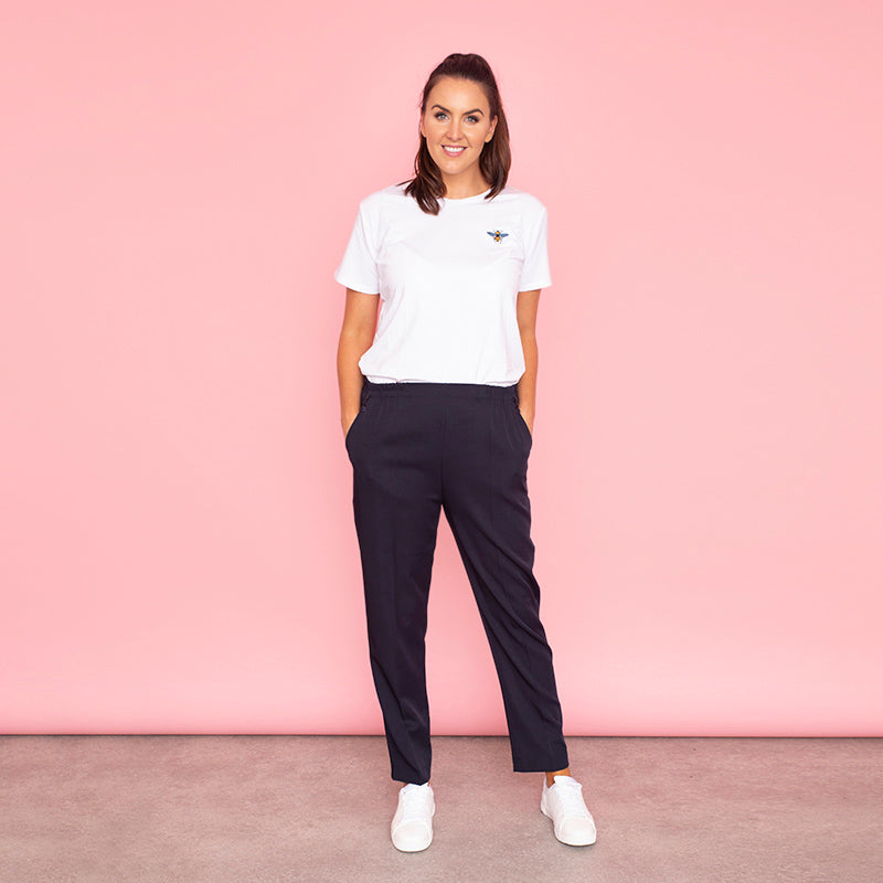 Nina Trousers (Navy)