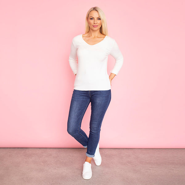 Melody Jumper (White)